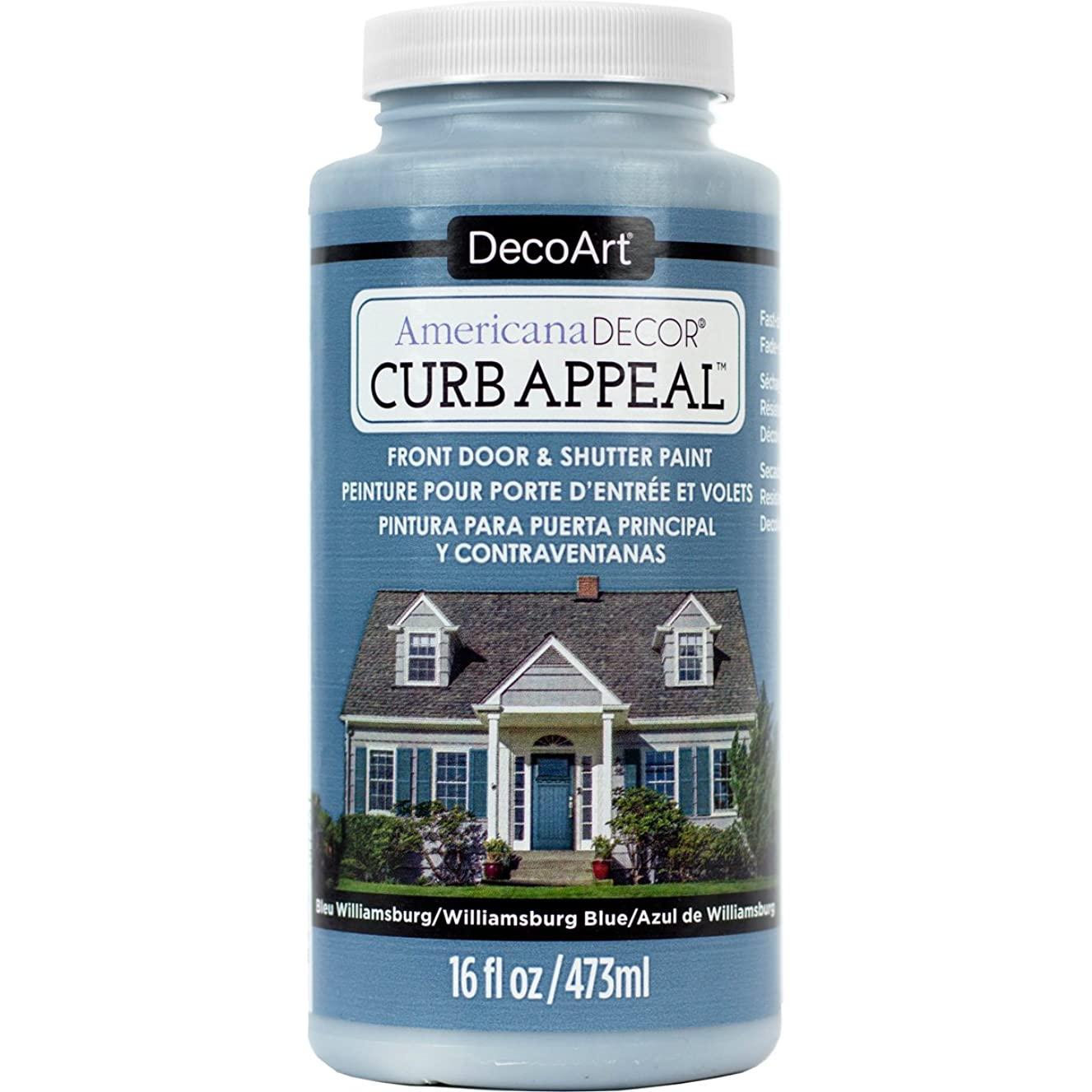 DecoArt Americana Decor Curb Appeal 16oz Willblue CurbAppeal16oz