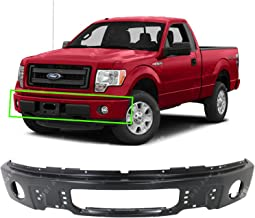MBI AUTO - Primered, Steel Front Bumper Face Bar Shell for 2009 2010 2011 2012 2013 2014 Ford F150 Pickup W/Fog 09-14, FO1002413