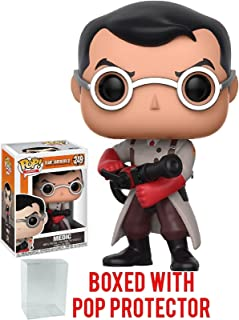 Funko Pop! Games: Team Fortress 2 - Medic Vinyl Figure (Bundled with Pop BOX PROTECTOR CASE)