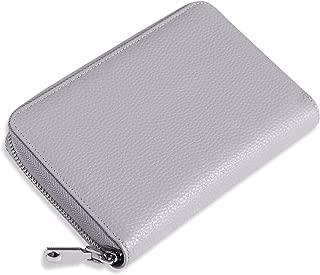 通帳ケース 磁気防止 通帳10冊収納 本革 RIFD スキミング防止 パスポートケース 保険証 診察券 ケース 通帳入れ