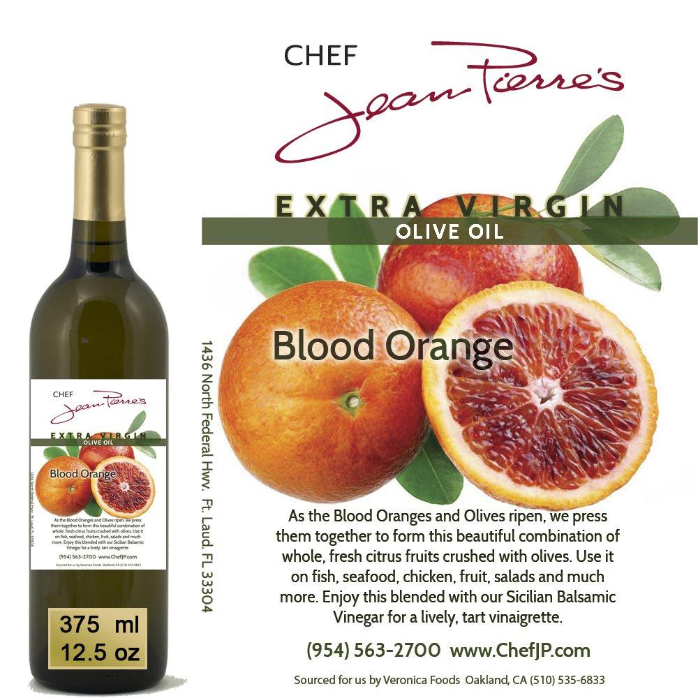 100% naturally infused Blood Orange Olive Oil 375ml (12.5oz)