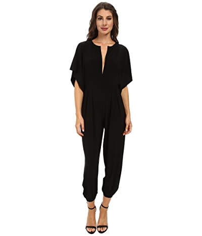 KAMALIKULTURE by Norma Kamali Rectangle Jog Jumpsuit (Black) Women