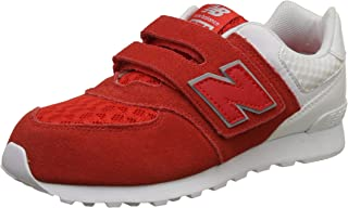 new balance Boy's 574 Leather Sneakers