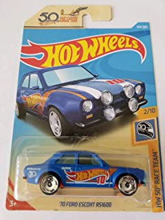 Hot Wheels 2018 Hw 50th Race Team 2/10 - '70 Ford Escort RS1600