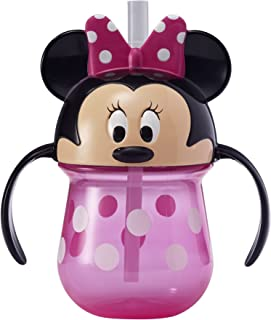 The First Years Minnie Mouse Baby Trainer Straw Cup, 7 Ounces