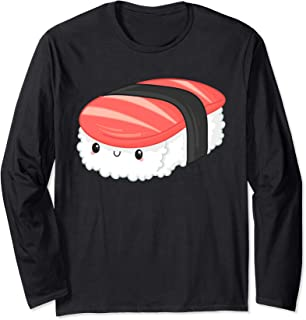 Funny Group Matching Sushi Tuna Halloween Party Costume Long Sleeve T-Shirt