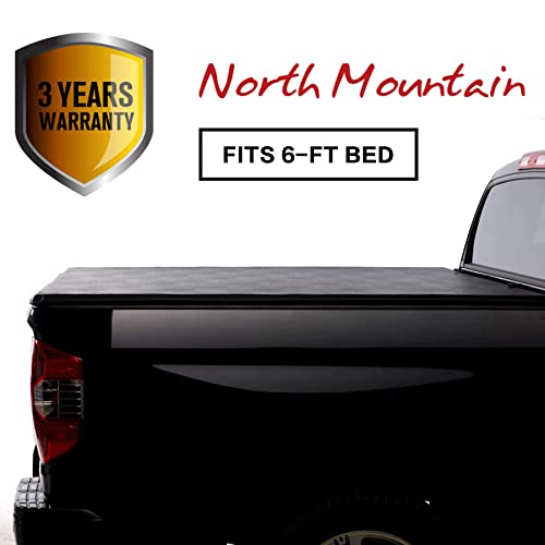 North Mountain Soft Vinyl Roll-up Tonneau Cover, Fit 05-19 Nissan Frontier