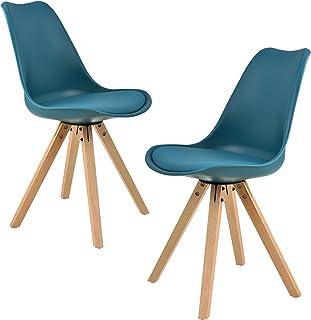 Amazon Fr Chaise Bleu
