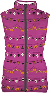 Rainbow Rules Halloween Decorations Mens Puffer Vest Bodywarmer Gilet