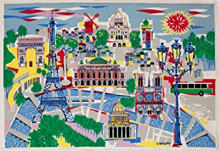 Air France Pavilion - New York World's Fair Vintage Poster (artist: Bissery) c. 1964 (16x24 Giclee Gallery Print, Wall Decor Travel Poster)