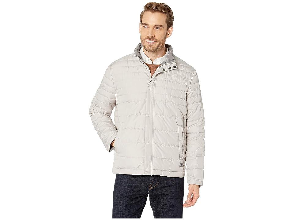 Kenneth Cole New York Horizontal Basic Puffer Jacket (Stone) Men