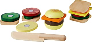 comprar comparacion Melissa & Doug - Juego de madera para hacer sándwiches (10513) , Modelos/colores Surtidos, 1 Unidad