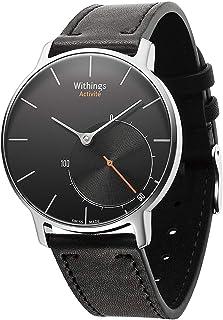 Withings Watch with Activity Tracking Schweizer Uhr als Aktivitäts und Schlafüberwachung für Los - Pulsómetro, Color Negro, Talla n/a