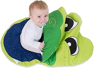 Saco de dormir para niños hecho de mamelucos de algodón para niños y niñas 85 x 70 x 6 cm - saco y silla de paseo de cocodrilo de invierno para niños pequeños