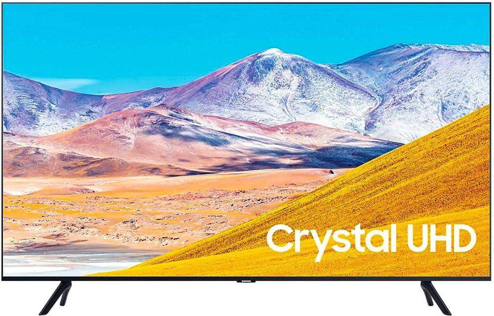 Samsung smart tv 82 pollici (2.08 m), 4k (3840x2160 pixel), dvb-t2, internet tv UE82TU8072
