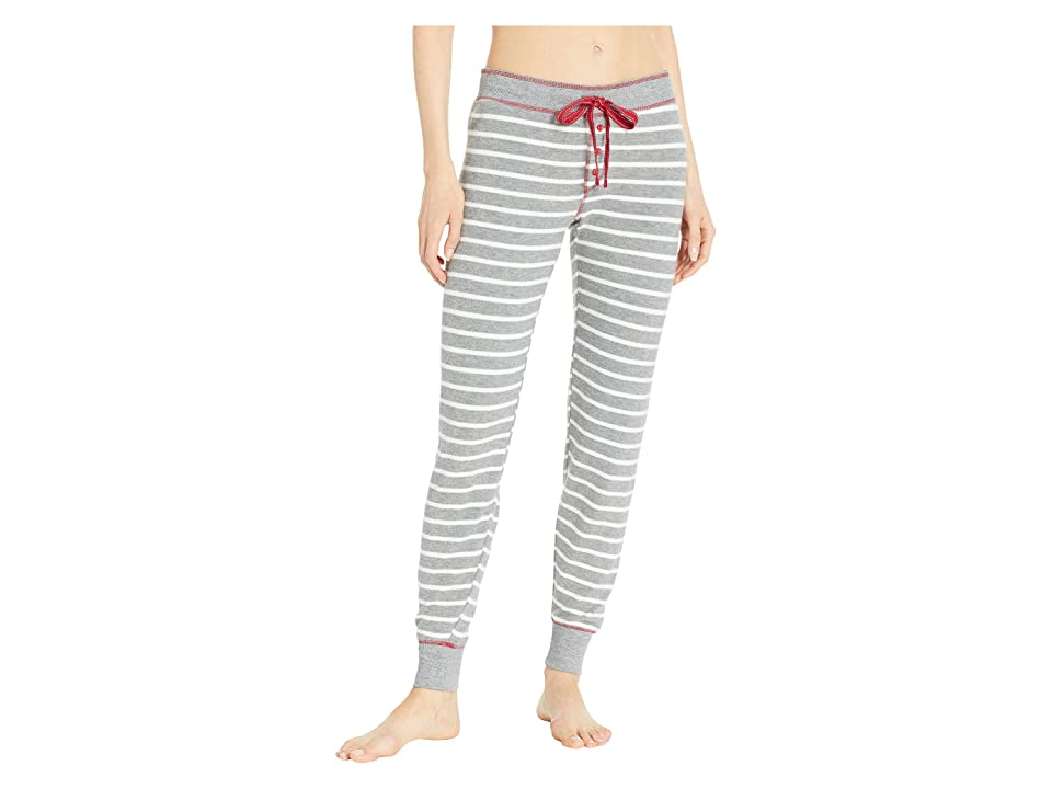 P.J. Salvage Oh Holiday Joggers (Heather Grey) Women