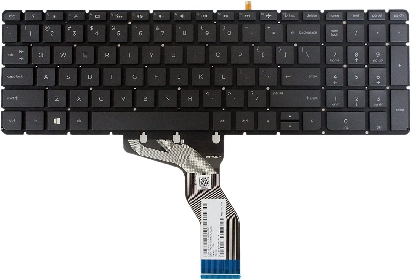 New Easy-to-use US Black Backlit English Without Rep Keyboard Frame Max 74% OFF Laptop