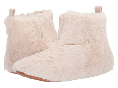 FitFlop Furry Slipper Bootie (Mink) Women