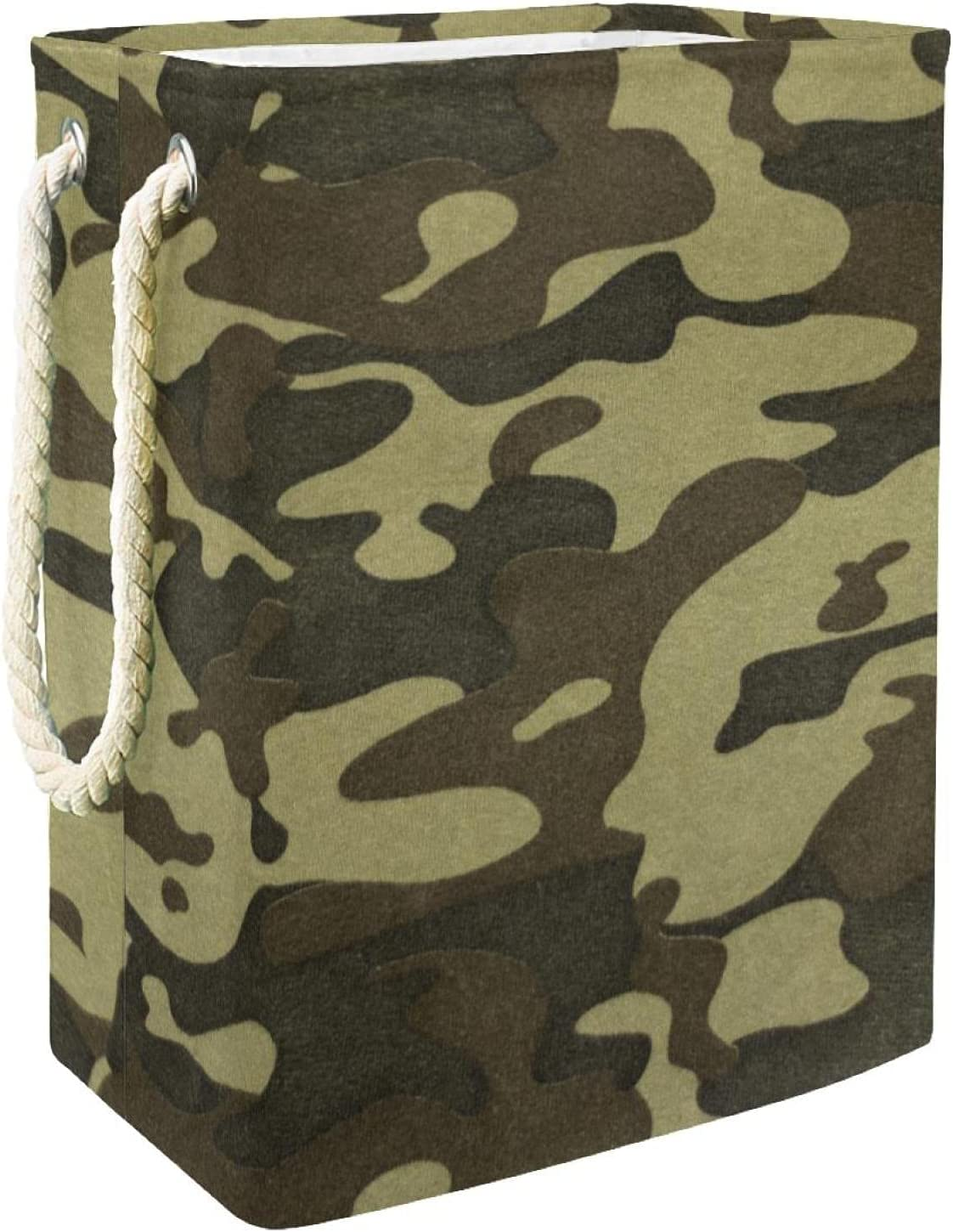 Camouflage low-pricing Camo Laundry Basket Organizer Collapsible Rectangular Dealing full price reduction