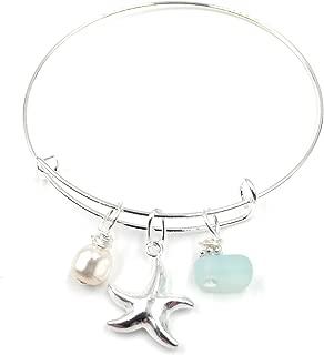Best sea glass charm bracelet Reviews