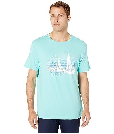 Nautica Vintage Sails T-Shirt (Blue) Men