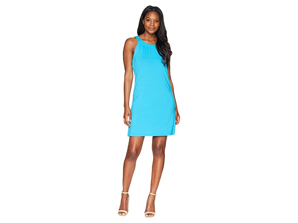 Tommy Bahama Tambour Sleeveless Short Dress (Hawaiian Ocean) Women