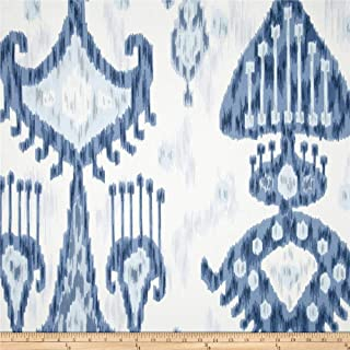 Robert Allen 0320023 @ @ Home Khandar Indigo Fabric by the Yard