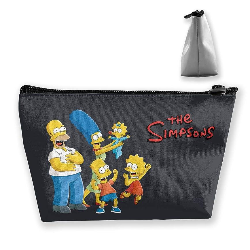 疎外大聖堂破壊的DSM_TXSND ザ シンプソンズ Simpsons 化粧ポーチ ポーチ 小物入れ 多機能コスメポーチ メイクポーチ 化粧バッグ 化粧品 コスメ収納 便利 収納ポーチ 旅行用 収納ケース 化粧ポーチ