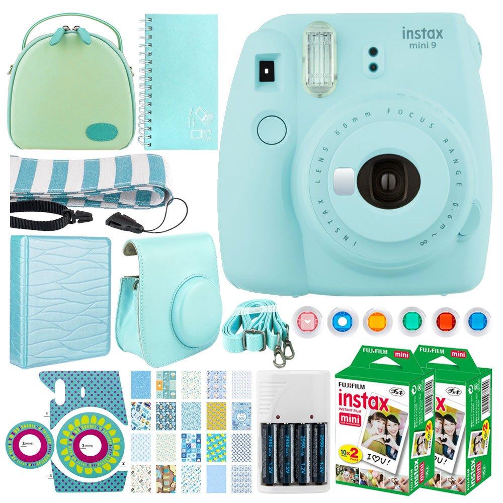 Fujifilm Instax Mini 9 - Cámara instantánea de película (azul ...