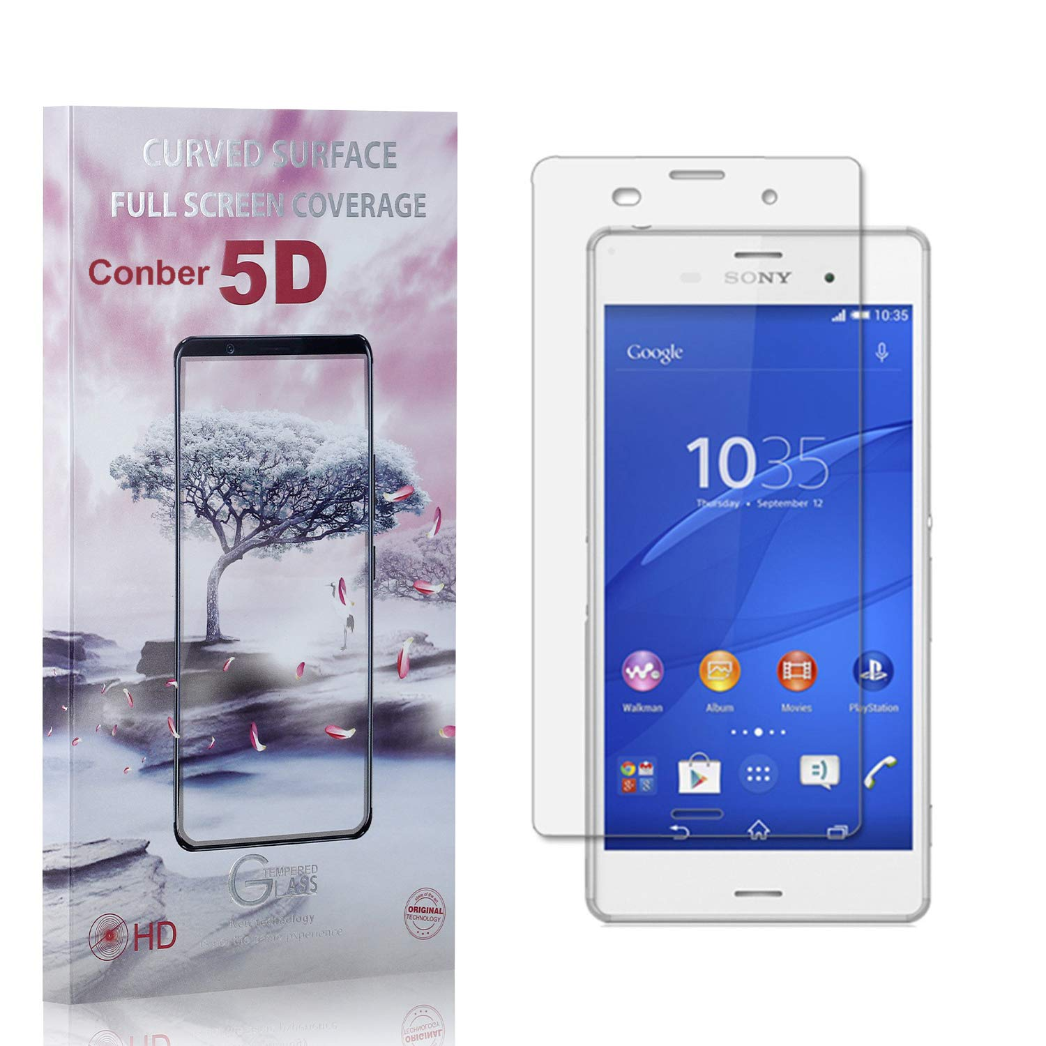 Conber Max 68% OFF 1 Pack Screen Protector Anti-Shatt Z3 At the price for Sony Xperia