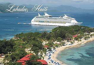 Labadee, Haiti, Island, Beach, Cruise Ships, Souvenir Magnet 2 x 3 Photo Fridge Magnet