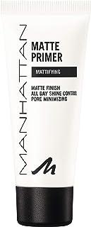 Manhattan Matowy Primer, lekki i matujący podkład dla nieskazitelnego wyglądu skóry i idealnie matowanej, równomiernej