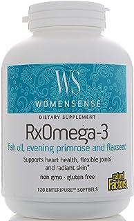 Natural Factors, (3 Pack) WomenSense, RxOmega-3, 120 Enteripure Softgels