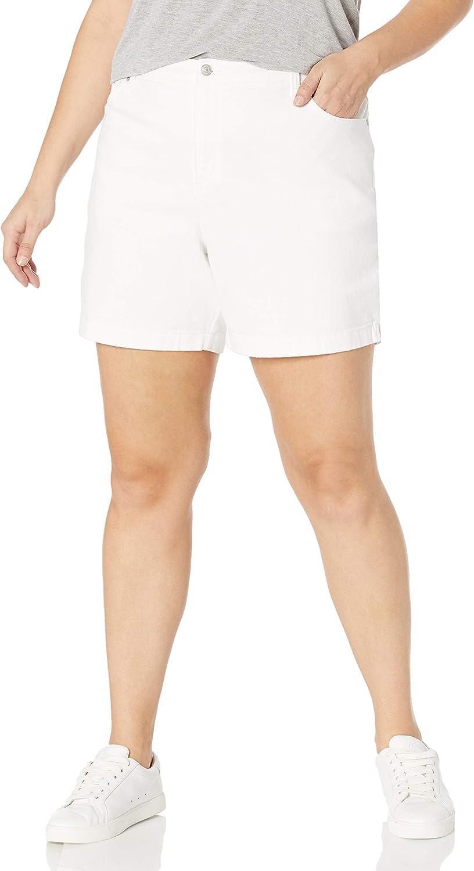 Gloria Vanderbilt Womens Amanda Basic Jean Short