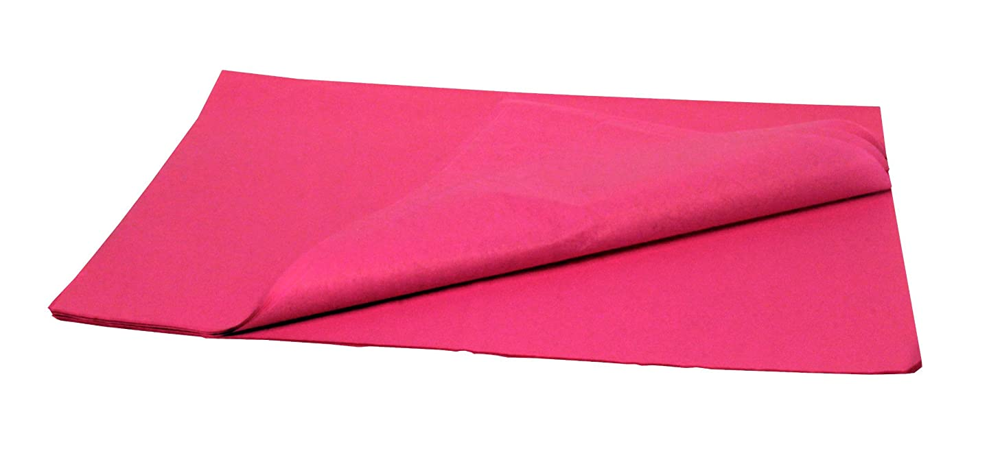 Brand New Tissue Paper Pack 48 Sheets 20 Inch x 30 Inch Hot Pink
