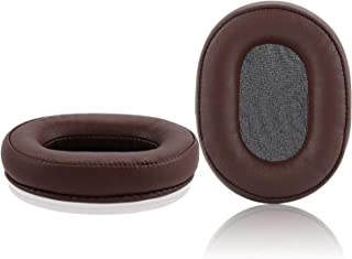 MSR7 Replacement Earpads, JARMOR Protein Leather & Memory Foam Ear Cushion Cover for Audio-Technica ATH-MSR7ATH-MSR7BK Ov...