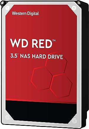 WD 西部数据 红色系列 10TB NAS硬盘驱动器 - 5400 RPM Class SATA 6 Gb/s 256MB缓存3.5英寸- WD100EFAX