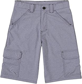 Wrangler Big Boy's Outdoor Cargo Shorts (4, Stonewash Heather Grey)