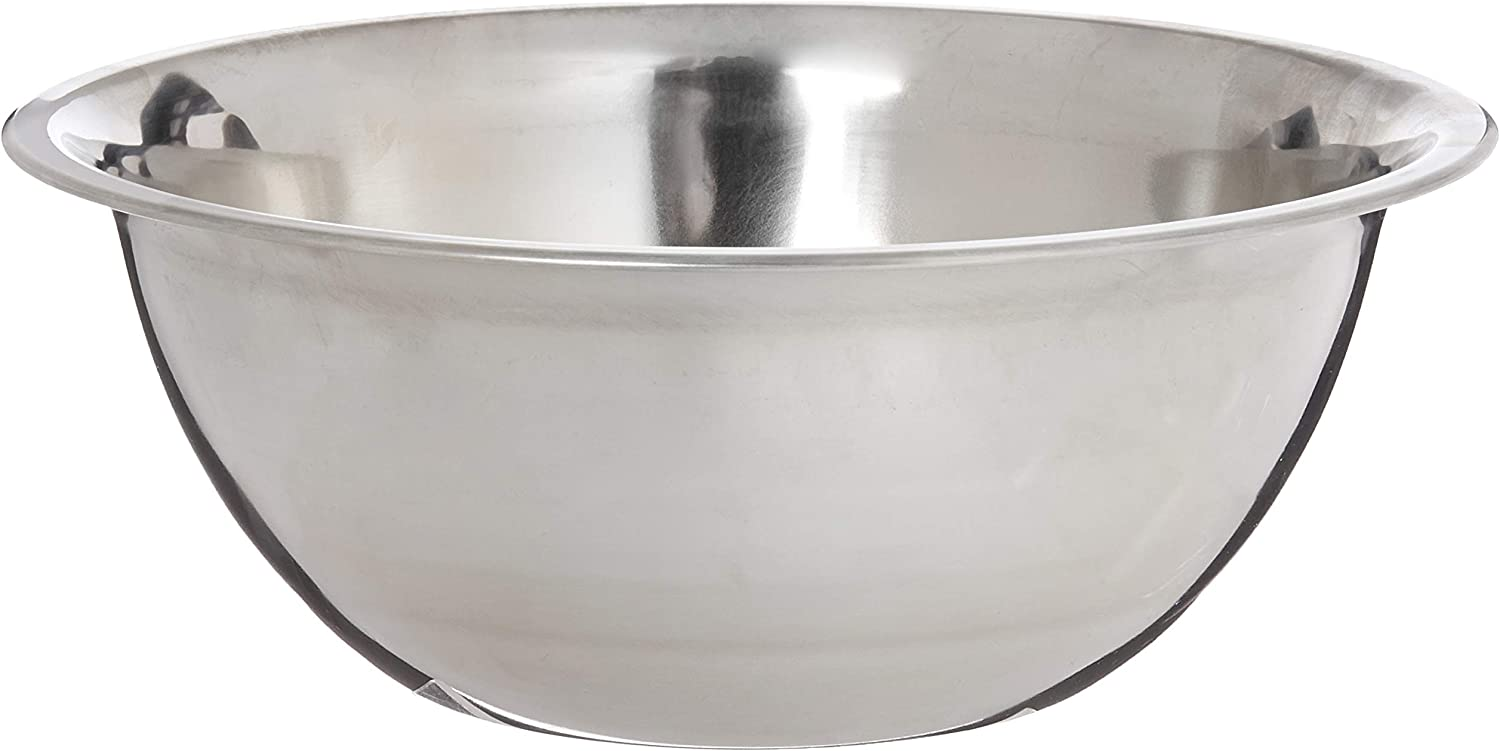 3 Quart Stainless Mixing Bowl In Comes mart At the price of surprise Each