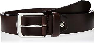 Sponsored Ad – OCTAVE Men's Plain Casual Genuine Leather Belt, Dark Brown