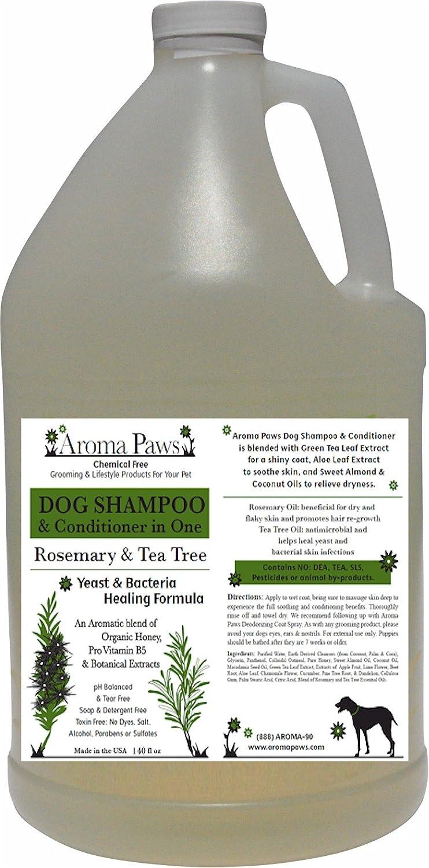 Aroma Paws Shampoo, pinkmary Tea Tree