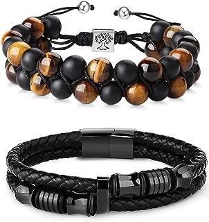 Best nialaya men's bracelet Reviews