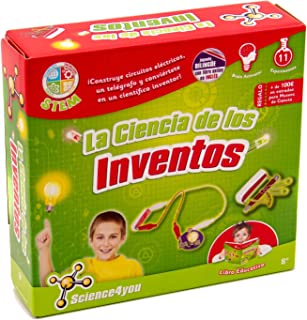 Science4you-La Ciencia de Los Inventos Juguete Científico y Educativo Stem para Niños +8 Años, Multicolor, única (605206)