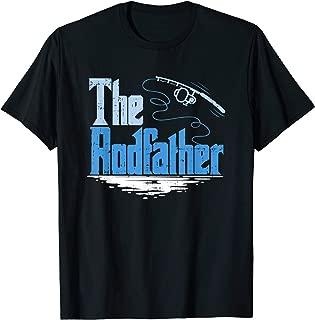 The Rodfather Funny Fishing Parody T-Shirt T-Shirt