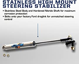 Carli Suspension 17+ F250/350 4×4 Stainless High Mount Steering Stabilizer (2017+ 4x4 F250/350)