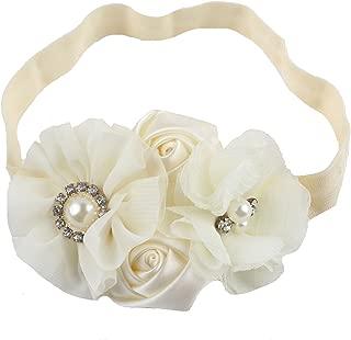 ivory headband baby