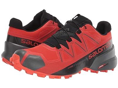 Salomon Speedcross 5 GTX(r) (Valiant Poppy/Black/Cherry Tomato) Men