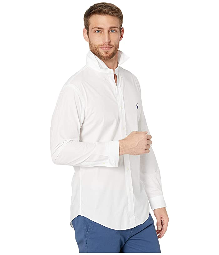 Polo Ralph Laurenslim Fit Poplin Sports Shirt - Ropa Camisas Y Tops