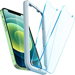 Spigen AlignMaster Tempered Glass Screen Protector for iPhone 12 Mini - 2 Pack