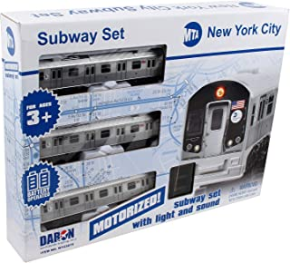 New York MTA New York City 3 Pc. Battery Operated Train Set with Track